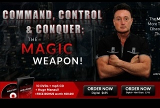 Command Control and Conquer: the Magic Weapon! (Digital + Hard Copy)